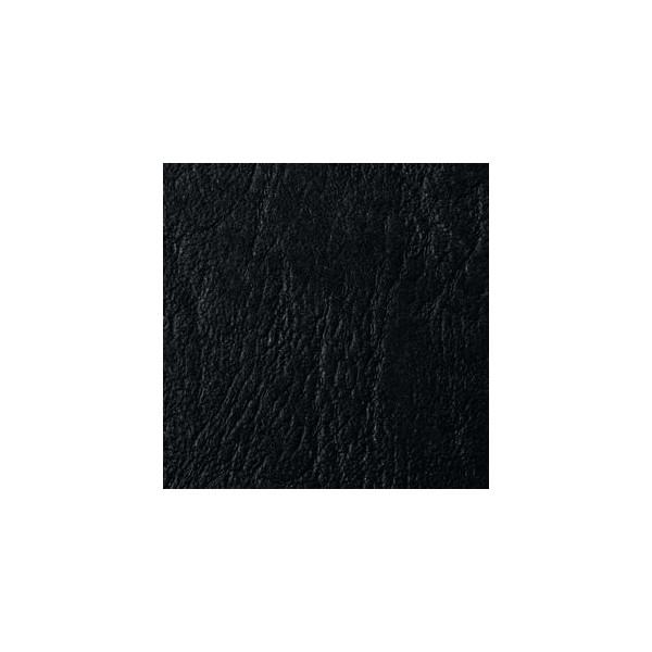 GBC Umschlagkarton LeatherGrain 4400017 A5 Karton 250 g/m² schwarz Lederstruktur 100 Stück