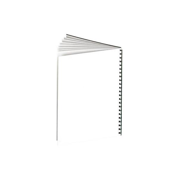 GBC Umschlagkarton HiGloss CE020071 A4 Karton 250 g/m² weiß glänzend/matt 100 Stück