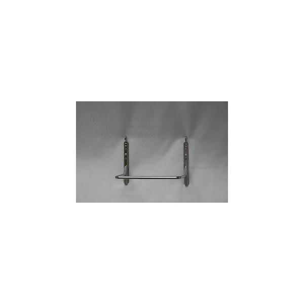 Grieshaber Haltebuegel für Briefkorb chrom