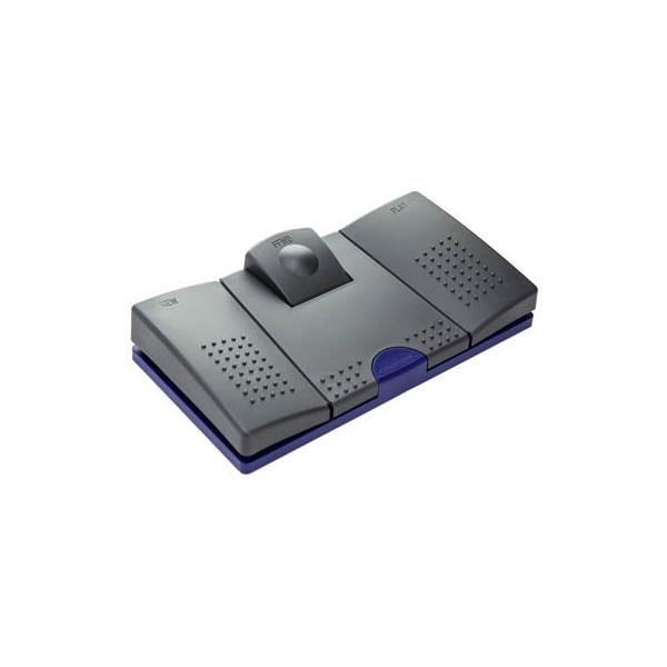Grundig Fußschalter 536 für Diktiergeräte Grundig schwarz