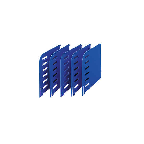 styro rac Trennwände/280-3015.35 TxH 231x240mm blau Kunststoff Inh.5