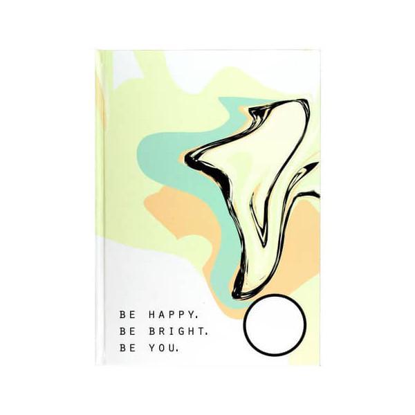 TOPPOINT Kladde 76372 A4 blanko 96 Blatt 192 Seiten