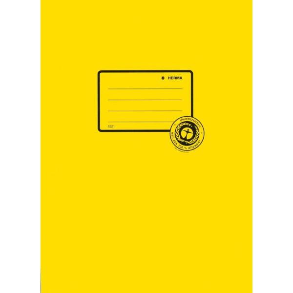 HERMA Heftschoner 5521 A4 Papier gelb