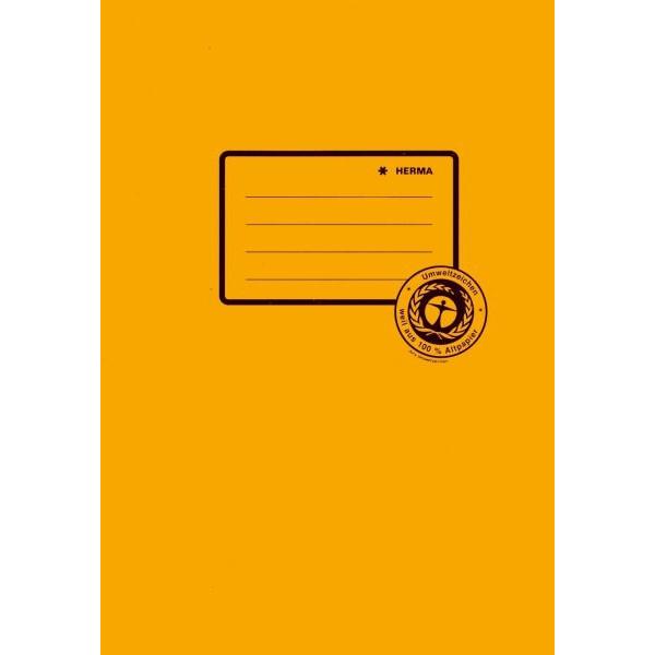 HERMA Heftschoner 5504 A5 Papier orange