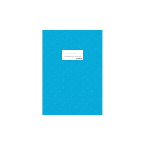 HERMA Heftschoner 7453 A4 Folie gedeckt hellblau