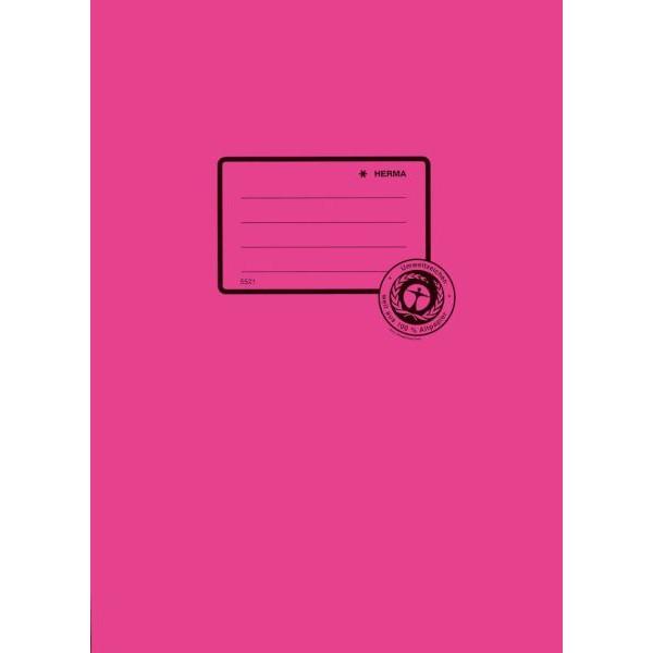 HERMA Heftschoner 5524 A4 Papier pink