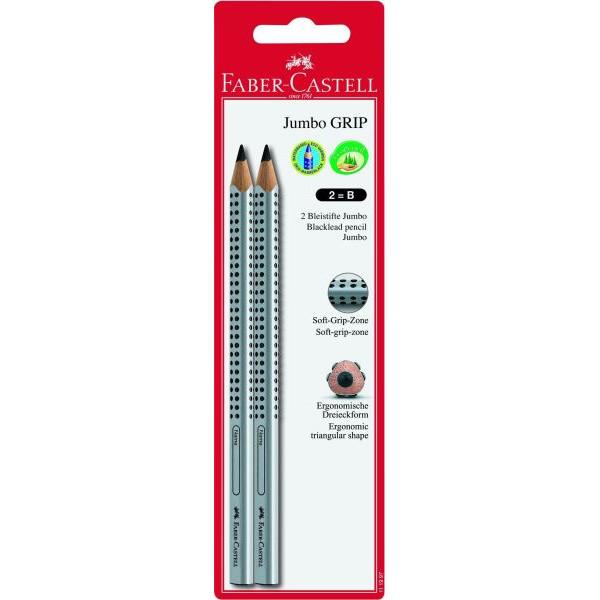 Faber-Castell Bleistift Jumbo Grip B