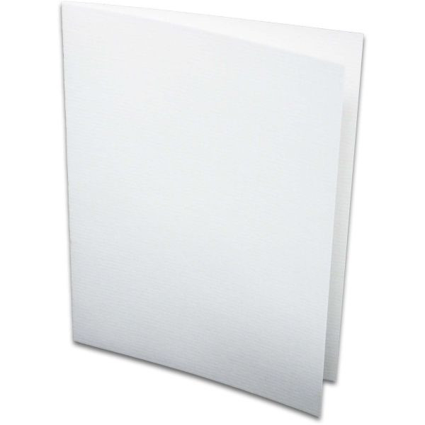 Rössler Doppelkarten A6 220g Weiss 5er Pack