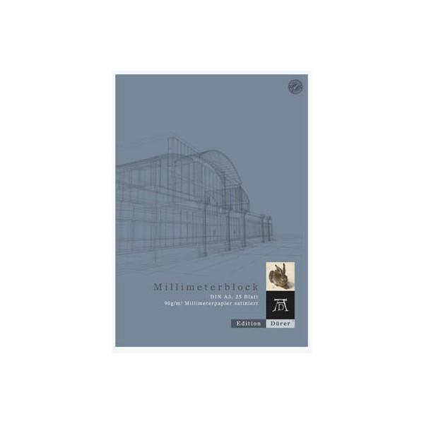 Format-X Millimeterpapierblock A3 25BL