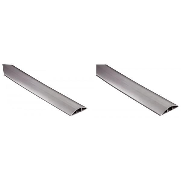 hama PVC-Kabelkanal Flexkanal grau