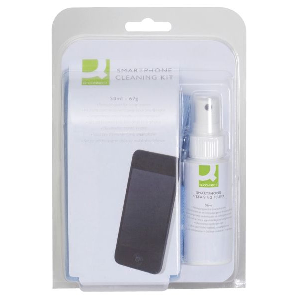 Q-CONNECT Reinigungsspray für Handy-Smartphone-Display Spraydose 50 ml