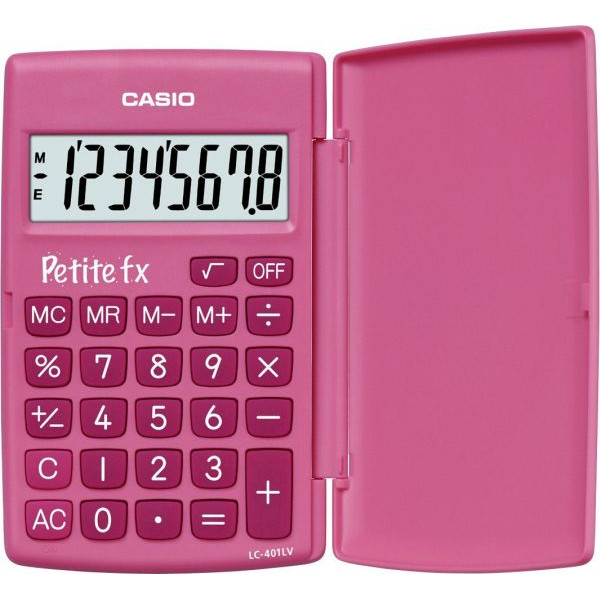 CASIO Taschenrechner 8-stellig pink