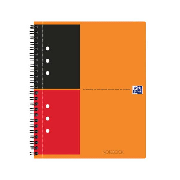 Oxford Spiral Notebook liniert