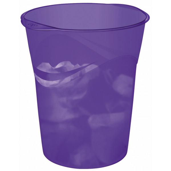 cep Papierkorb Happy 14 Liter violett