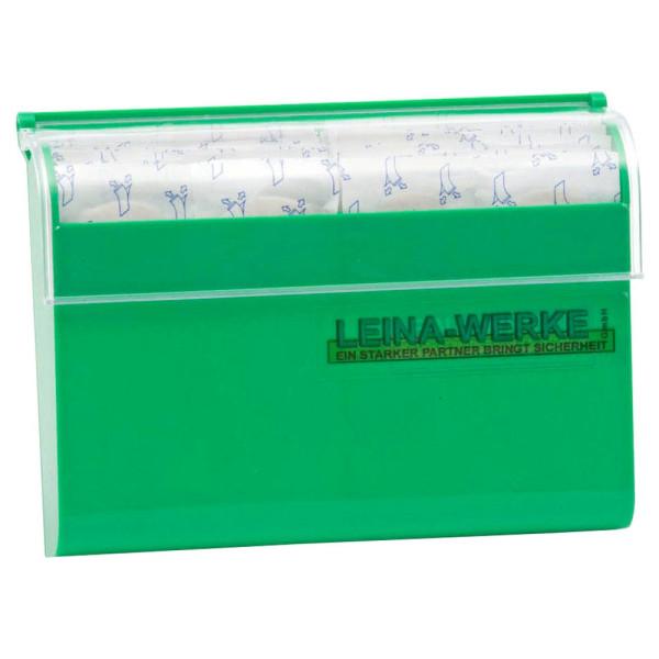 Leina-Werke Pflaster Spender grün 100 Pflaster