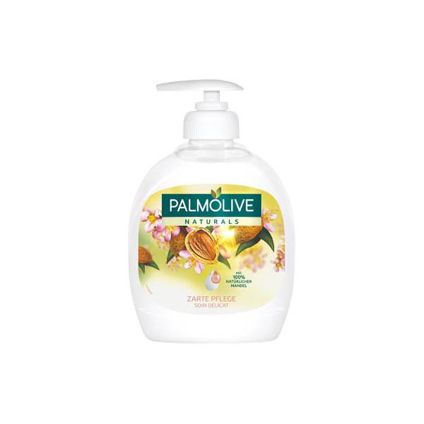 (0,47 EUR/100 ml) Palmolive Flüssigseife Naturals Mandelmilch 300 ml