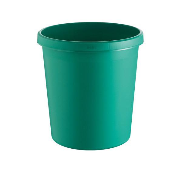 helit Papierkorb H61058, 18 Liter grün