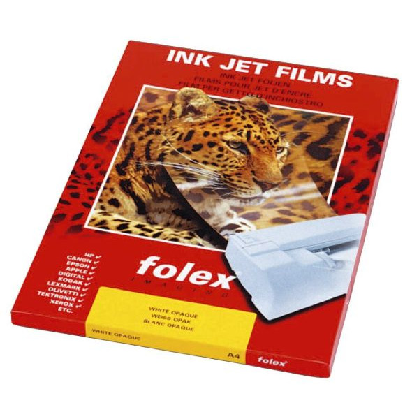 folex A4 InkJet Folie BG-32.5 RS Plus 50 Blatt