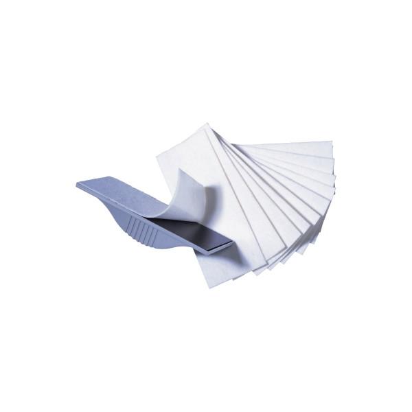 FRANKEN Tafelwischer magnetisch für Schreibtafeln/Magnettafeln grau
