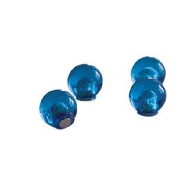 FRANKEN Magnetkugeln 14 mm dunkelblau 4 St.