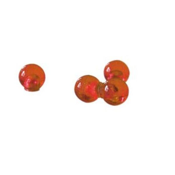 FRANKEN Magnetkugeln 14 mm orange 4 St.