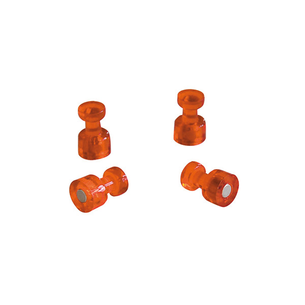FRANKEN Memohalter Ř 18 mm orange 4 St