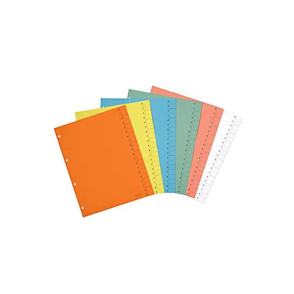 Trennblätter A4 gelb 250g 100 Blatt