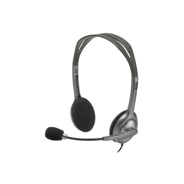 Logitech Logitech Headset H110-981-000271 silber