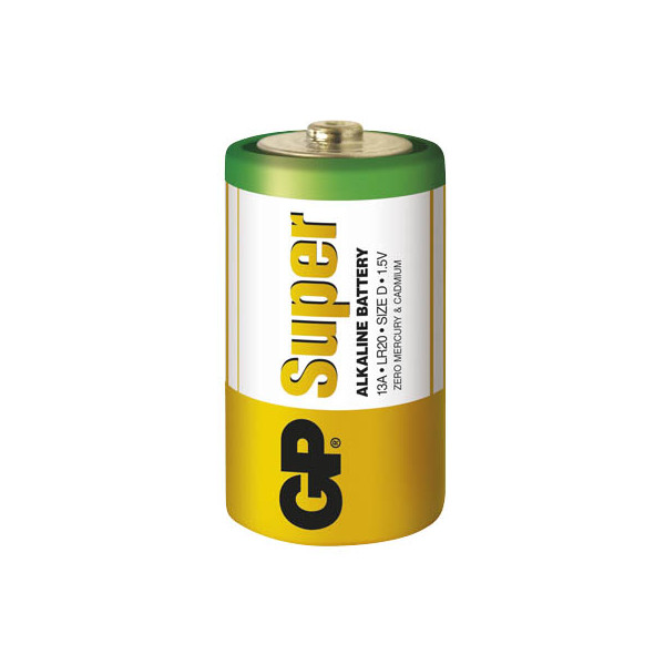 GP Batterie Super Mono / LR20 / D 4 Stück