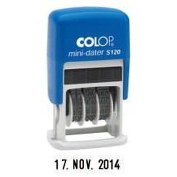 COLOP Datumstempel Mini Data S120 4mm