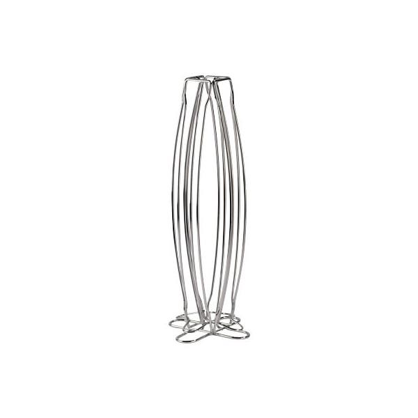 xavax Kaffee-Kapselständer-111079 B150xH366xT150 mm silber für 40 Kapseln