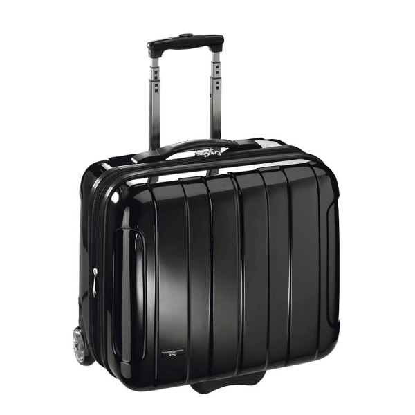 JSA Notebook-Businesstrolley schwarz bis 17 Zoll