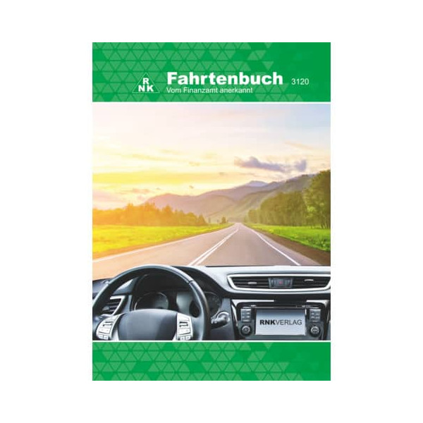 RNK Fahrtenbuch für PKW mit Parkscheibe/3120/2 DIN A5