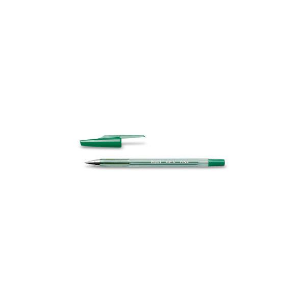 PILOT Kugelschreiber BP-S grün 0,3 mm mit Kappe