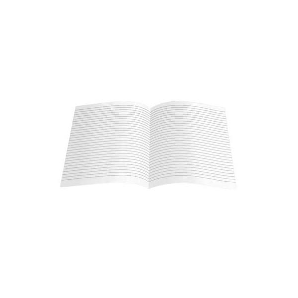 Ursus Kanzleipapier A3 auf A4 gefalzt liniert ohne Rand weiss 250 Blatt