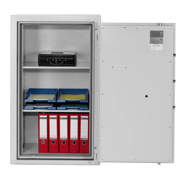 Tresor IV K1 202 l Doppelbart-Sicherheitsschloss grau