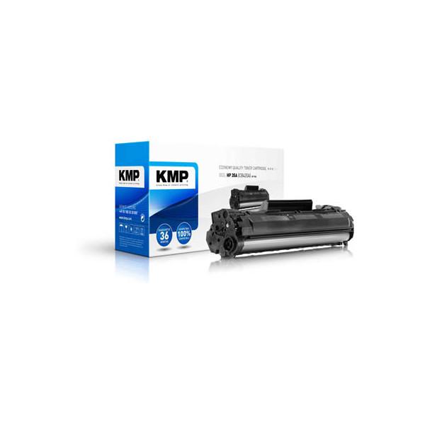 KMP Toner schwarz ersetzt HP 35A
