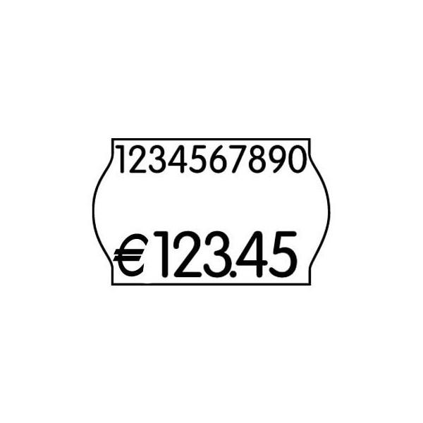 PrinterLabels AS Preisetiketten 70-21M-0-003, 26x16mm, weiß permanent, 14.400 Etiketten