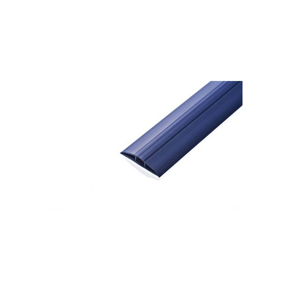 EHA Kabelbrücke Toploader blau RAL 5013 6,2 cm x 1,5 m (BxL)