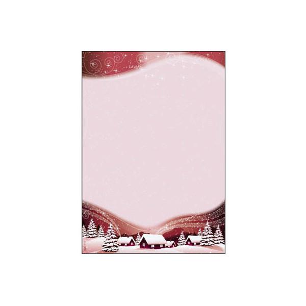 Sigel Weihnachtspapier Silent Night A4 100 Blatt DP036
