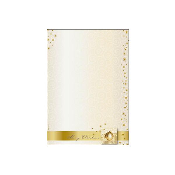 Sigel Weihnachtspapier Golden Times A4 100 Blatt DP033