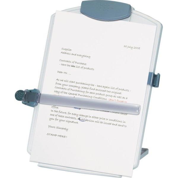 Q-CONNECT Konzepthalter A4 grau