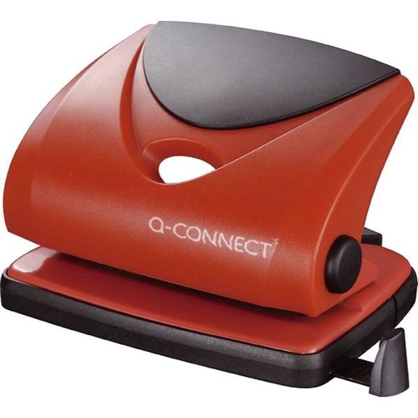 Q-CONNECT Locher mittel Stanzleist.2mm rot