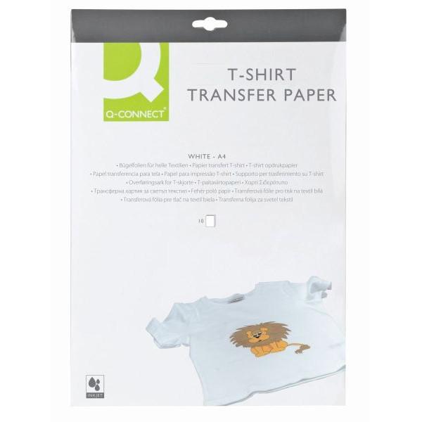 Q-CONNECT T-Shirt Transferfolie 10ST