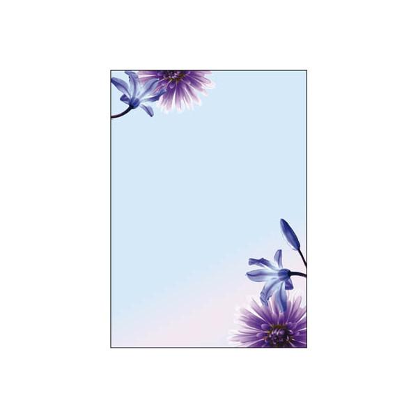 Sigel Motivpapier DP903 A4 90g Blue Emotion 50 Blatt