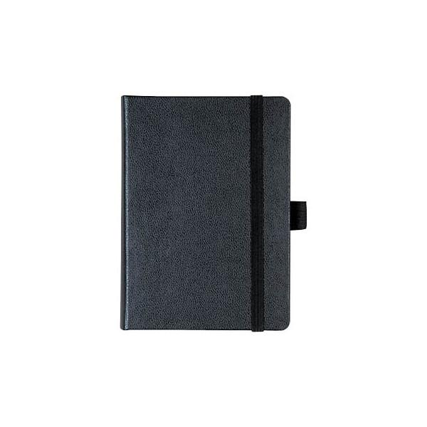 Brunnen Notizbuch schwarz ca. DIN A6 liniert