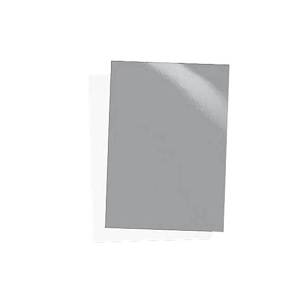 Renz Umschlagkarton Chromo 21250064 A4 Karton 250 g/m² silber glänzend 100 Stück