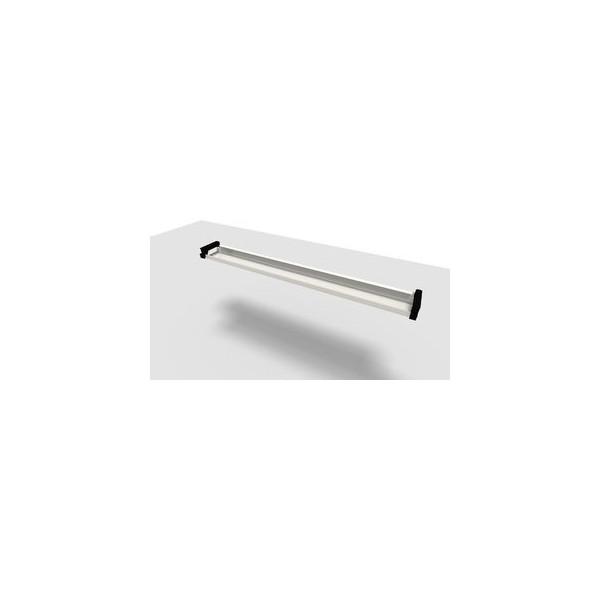 Kabelkanal Jump 180 cm Tisch silber für 180 cm 10 AT