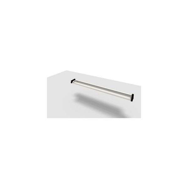 Kabelkanal Jump 200 cm Tisch silber für 200 cm 10 AT