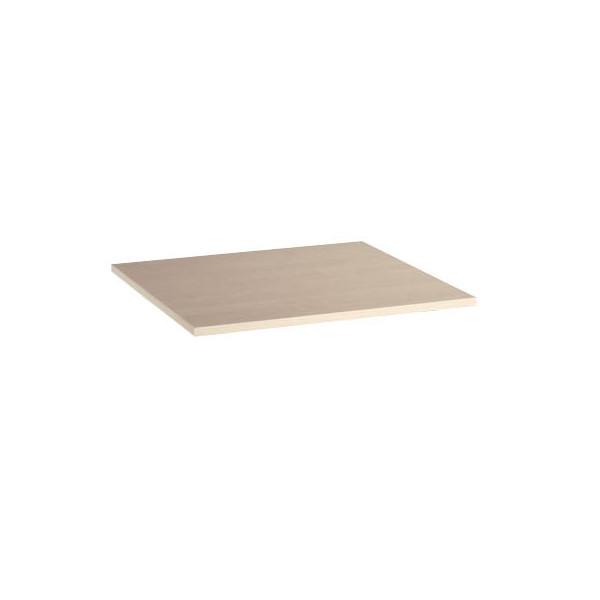 Tischplatte 25-PL88RE ahorn quadratisch 80x80 cm (BxT)